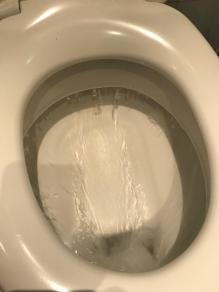 """Die """"eigene"""" große WC-Schüssel."""