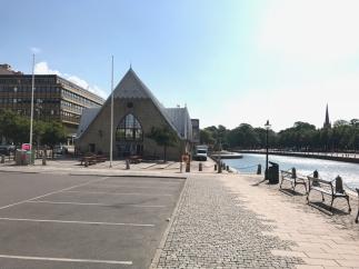 Fischkirche … eigentlich ein Fischmarkt
